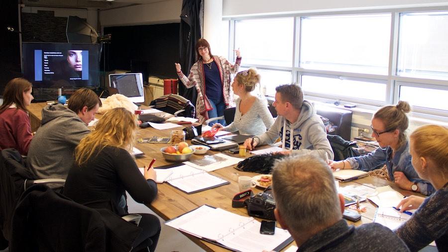 Open Dag Fotoschool Keistad leslokaal