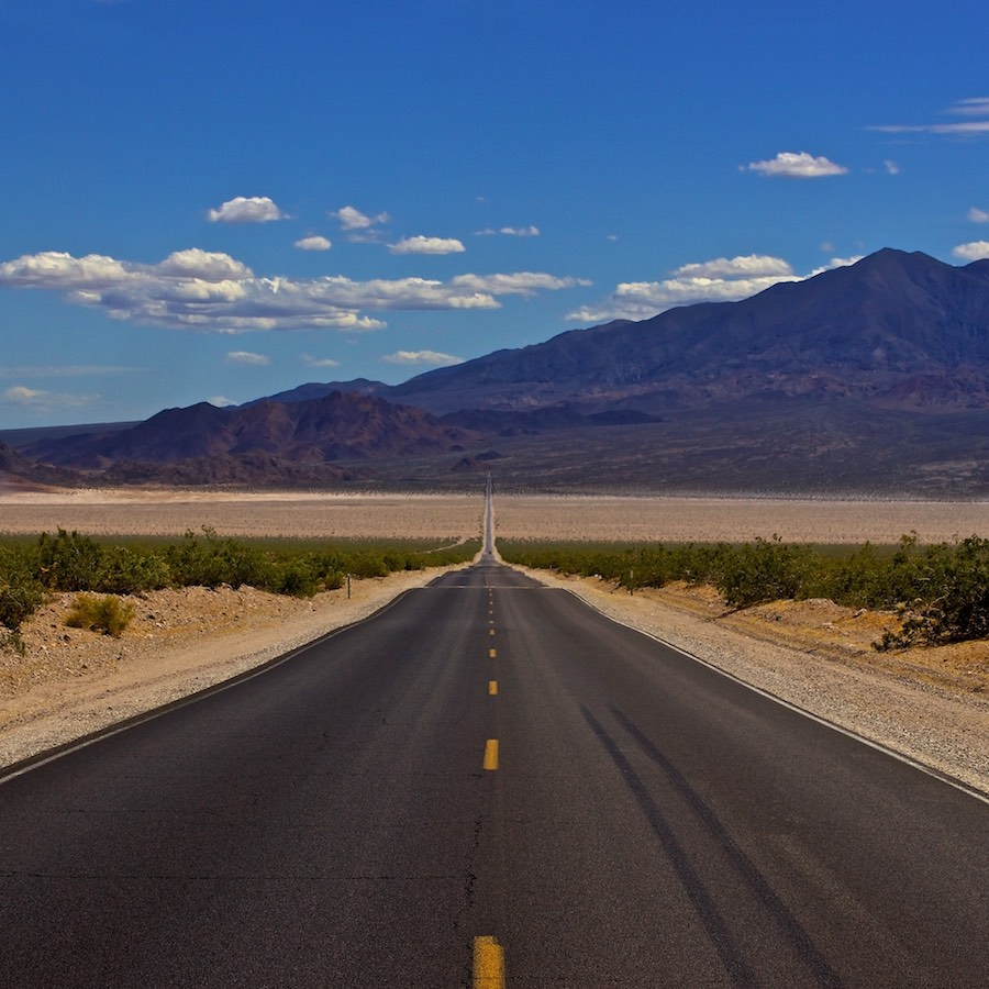 ©Gerard Oonk - Amerikaanse snelweg met perspectief (onderwerp: composities)