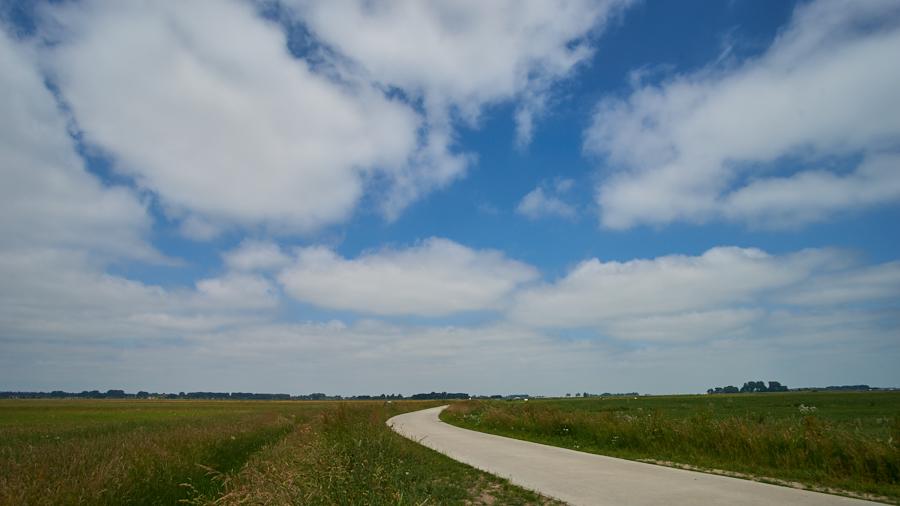 Landschapsfotografie met een professionele full-frame camera