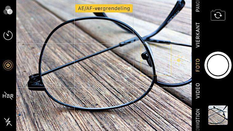 AF-AE vergrendeling Fotoschool Keistad bril